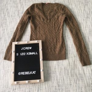 JCrew size xsmall Knit vneck Sweater pullover